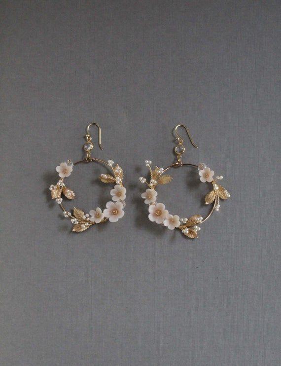 Photo of floral earrings – floral earrings Imágenes efectivas que le proporcionamos sobr…