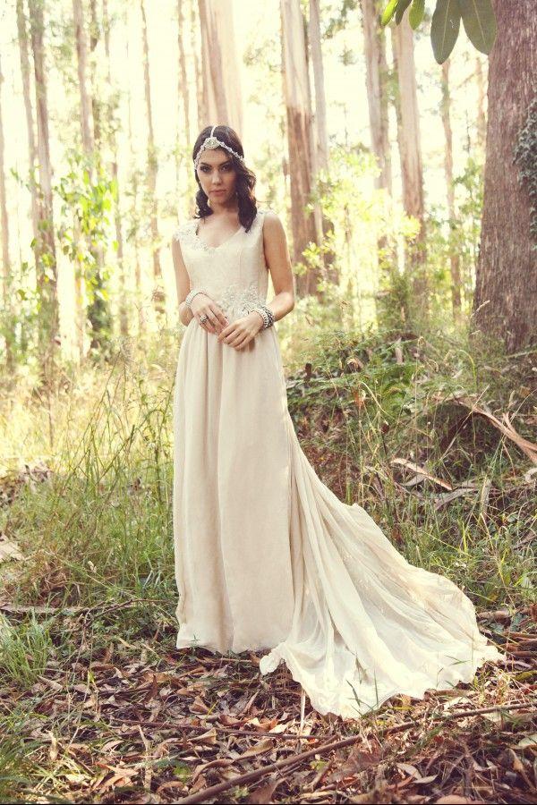 Cathleen Jia Melbourne bridal designer creating vintage