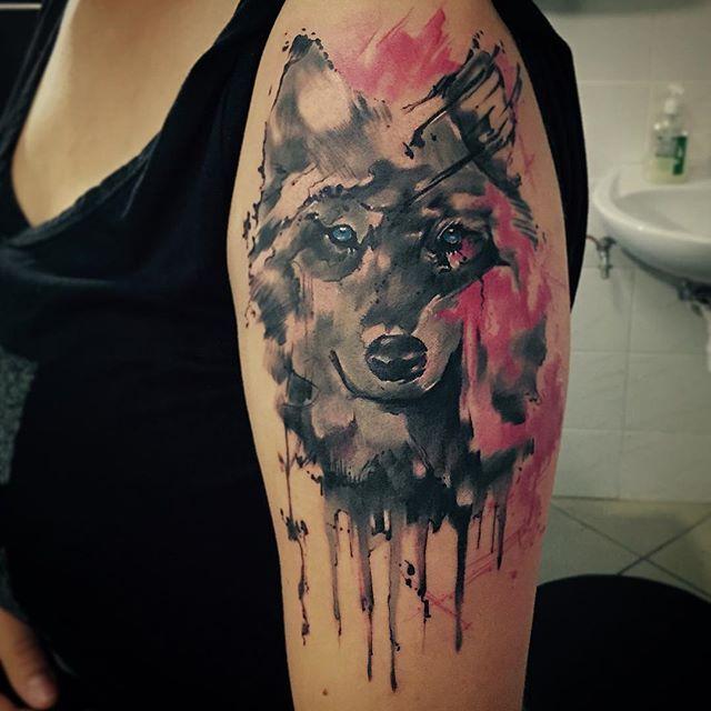 125 Coolest Wolf Tattoo Designs: 73 Amazing Wolf Tattoo Designs