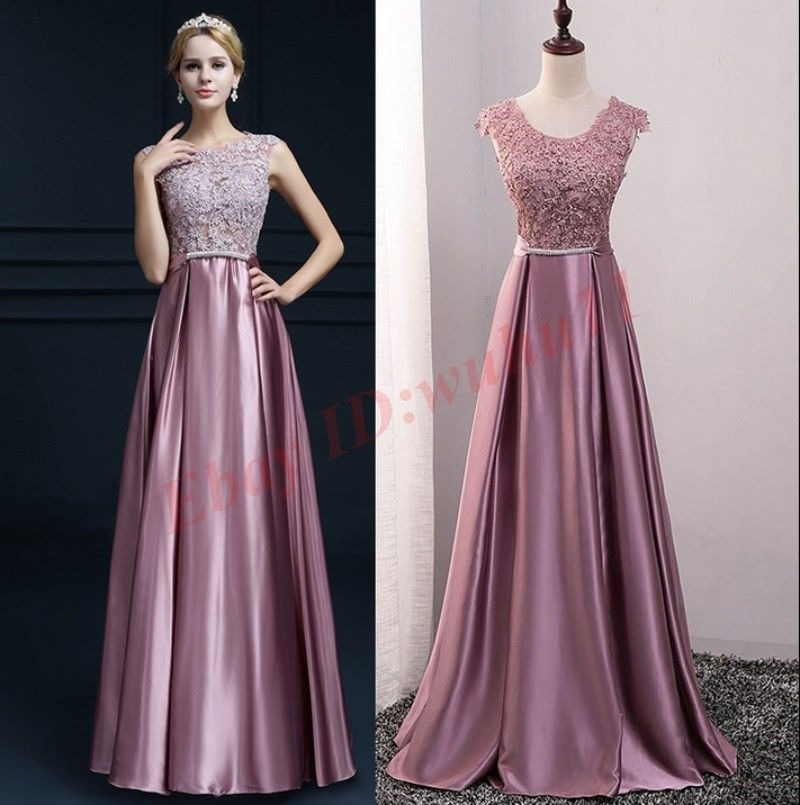 Women Evening Party Cocktail Formal Wedding Bridesmaid Ball Prom ...