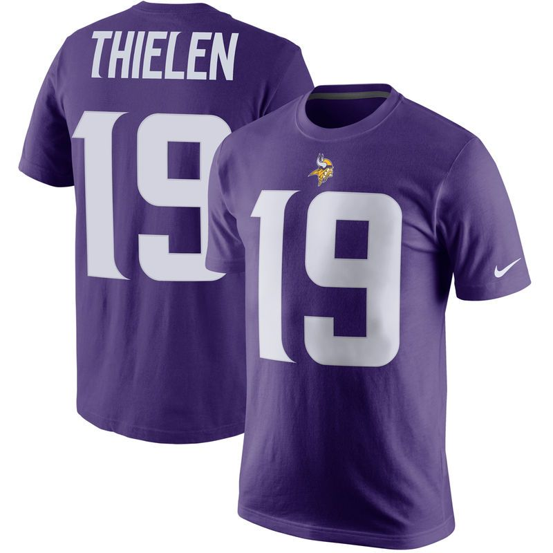 507170f27 Adam Thielen Minnesota Vikings Nike Player Pride Name   Number T-Shirt -  Purple