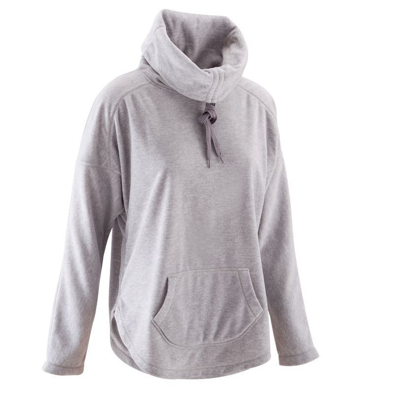 3f617156a615f FITNESS Fitness Vêtements - Sweat polaire yoga COCOON DOMYOS - Sports