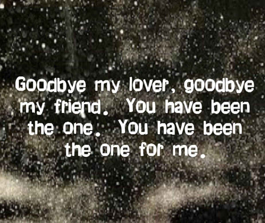 Lyric lover lover lover lyrics : James Blunt - Goodbye My Lover - I love this song even tho I cry ...
