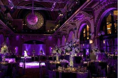 Purple And Gold Wedding Decor Ideas