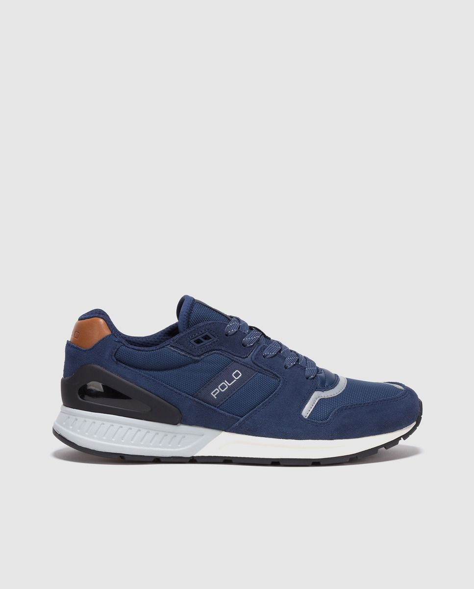 e16d7ab4d201f Men s Sneakers Polo Ralph Lauren navy blue with logo · Fashion and  Accessories · El Corte