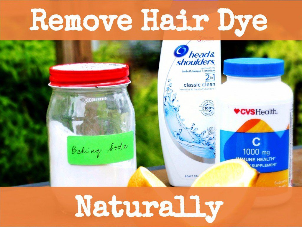 How to Naturally Remove Hair Dye With Baking Soda Vitamin ...