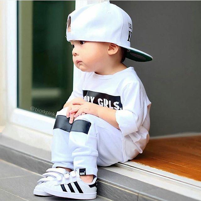31eca6361 Cute adidas baby, how sweet is this. | kids line | Baby boy fashion ...