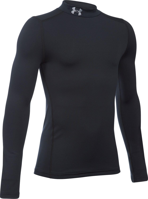 Under Armour Boys ColdGear Mock Long-Sleeve Shirt