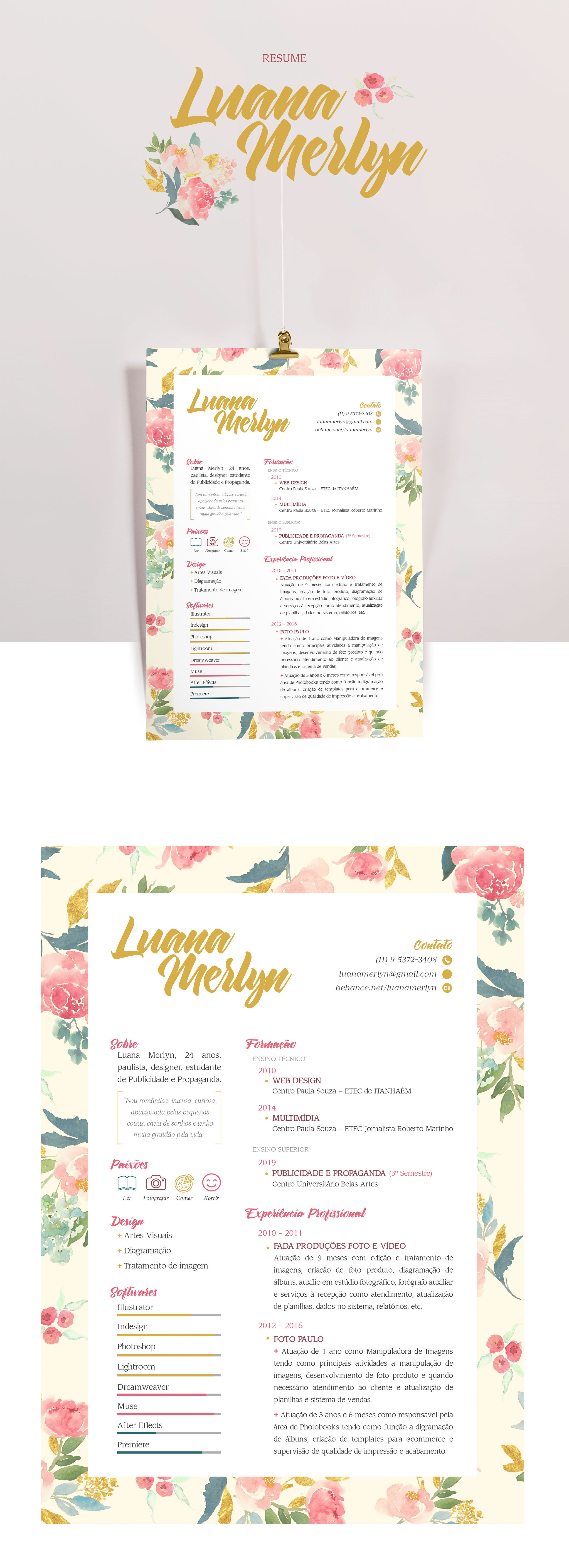 Resume Template 3 page pack | CV Template + Cover Letter for MS Word ...
