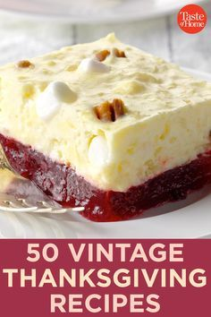 50 Vintage-Inspired Thanksgiving Recipes