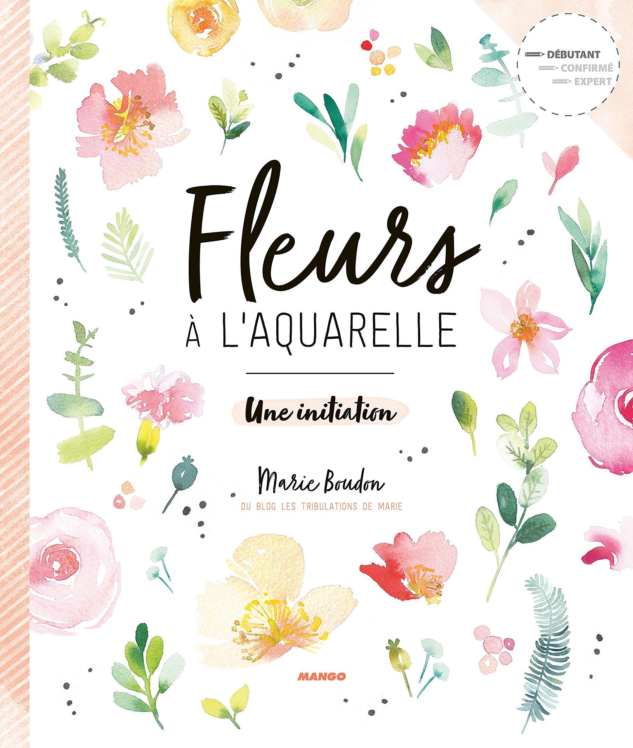 Diy Watercolor Flowers By Marie Boudon Paperback Handmade