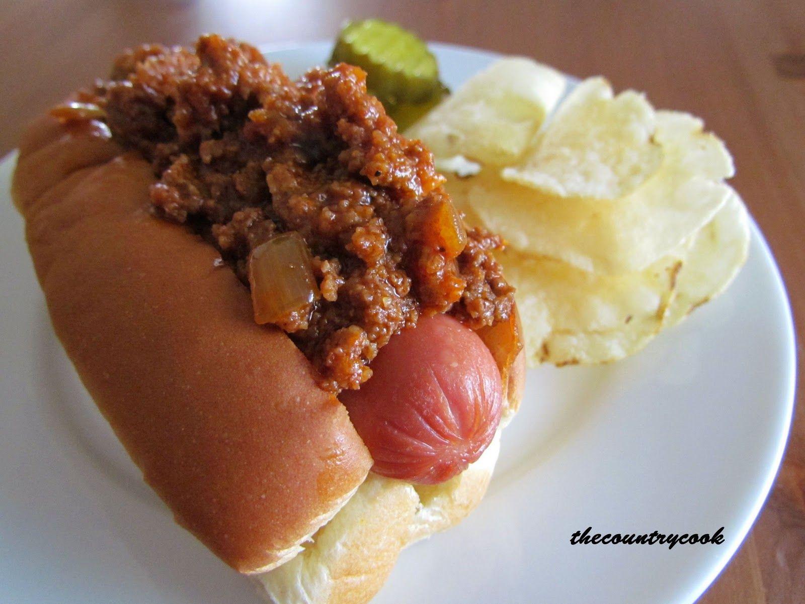 die besten 25 chilli hot dog ideen auf pinterest hot dog so e und coney hund sauce. Black Bedroom Furniture Sets. Home Design Ideas