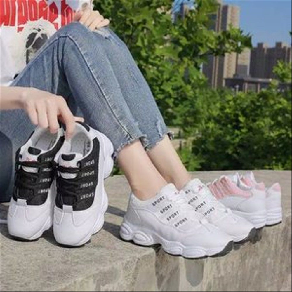 Dfan3294s41 Sepatu Ns 33 Poxing Wanita Smile Sepatu Sneakers
