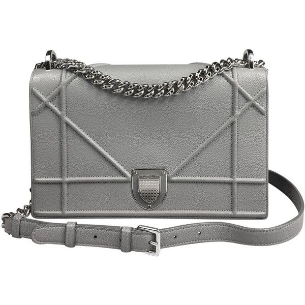 Pre-owned - Diorama leather crossbody bag Dior