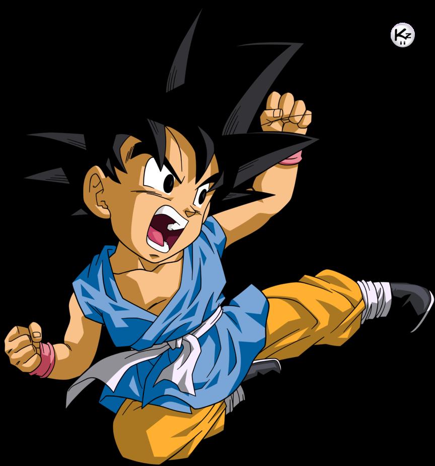 Son Gokuh Gt Kid Form By Krizeii On Deviantart Dragon Ball Ball