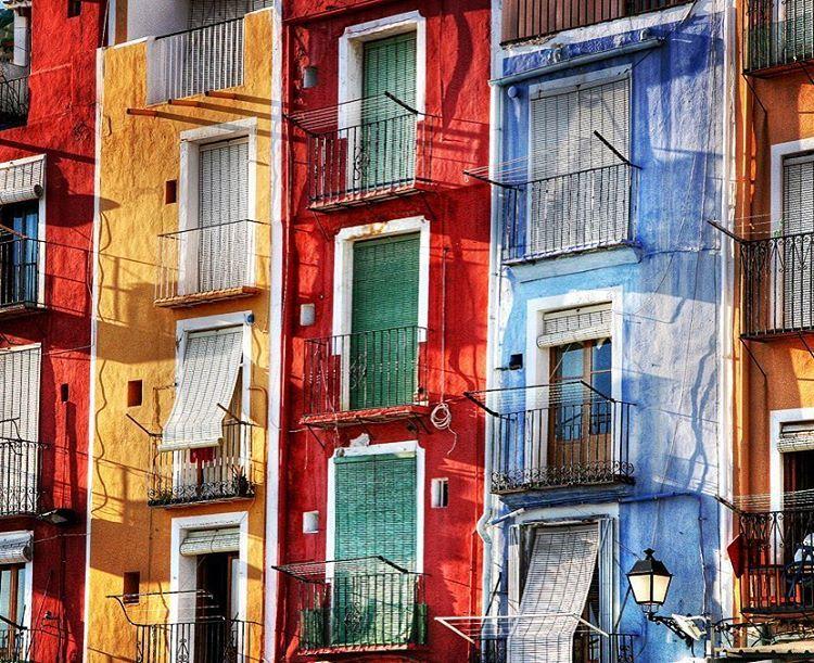 Villajoyosa Village España Colours Costa Blanca Alicante España