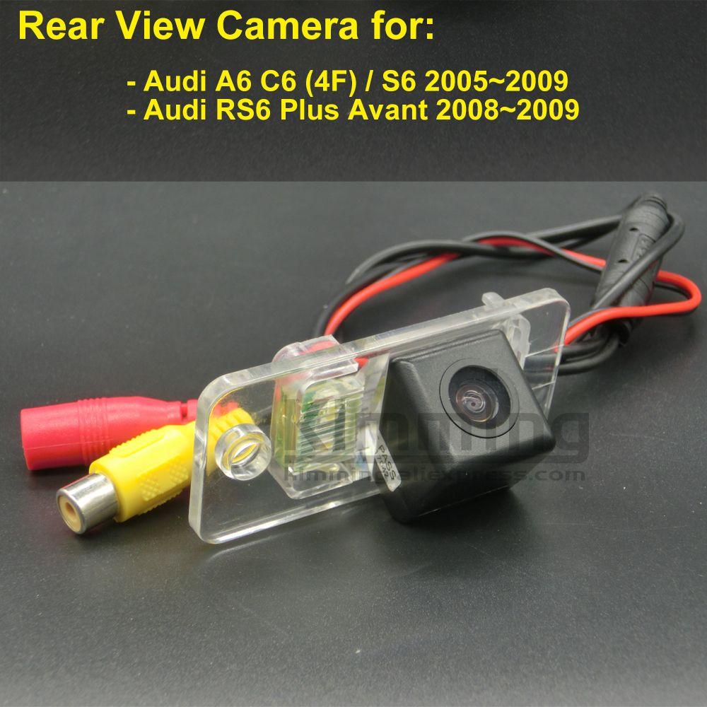 Car Rear View Camera for Audi A6 C6 4F S6 RS6 Plus Avant 2005 2006 ...