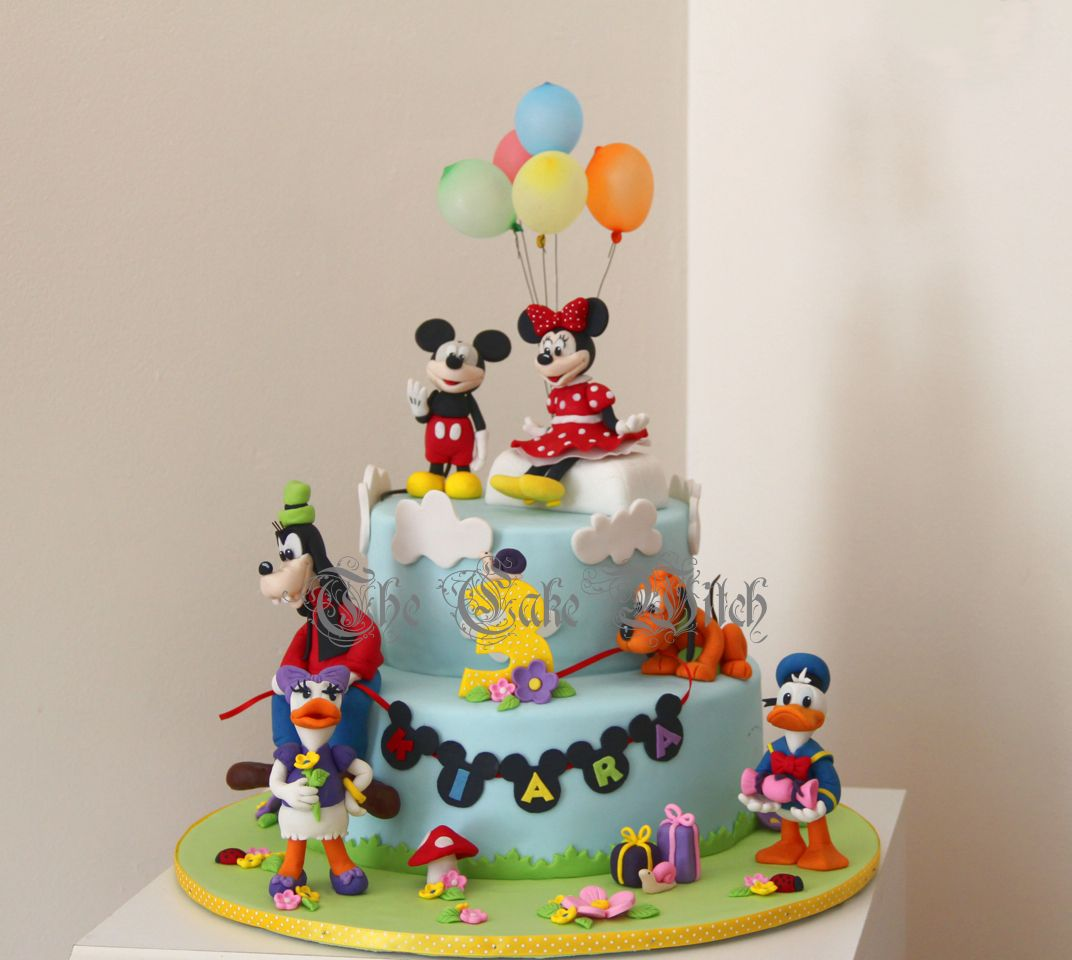 mickey mouse clubhouse cake design Mickey Mouse Clubhouse Cake  Essen