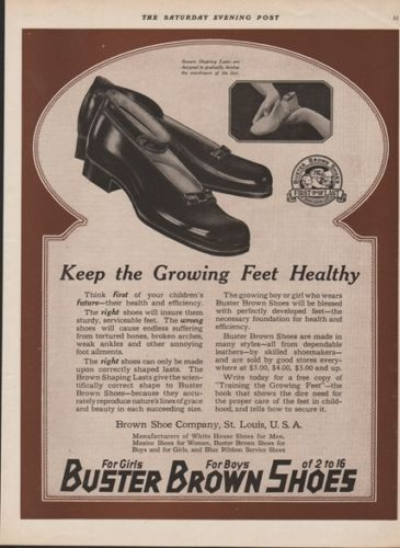 1919-BUSTER-BROWN-Shoe-Co-St-Louis-MO-Keep-the-Growing-Feet-Healty-Shoe-Ad