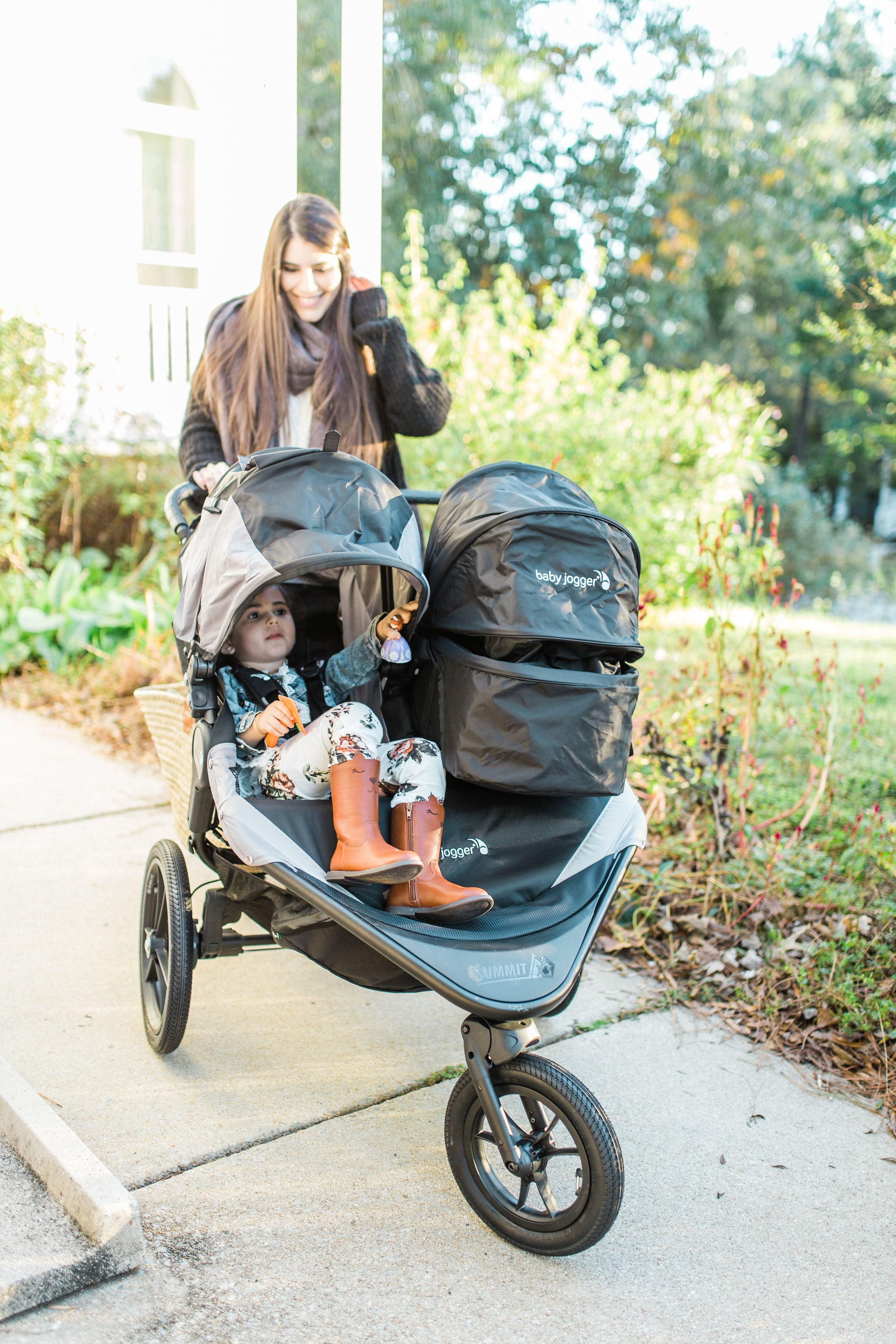 Baby Jogger Summit X3 Double Stroller Review Baby jogger