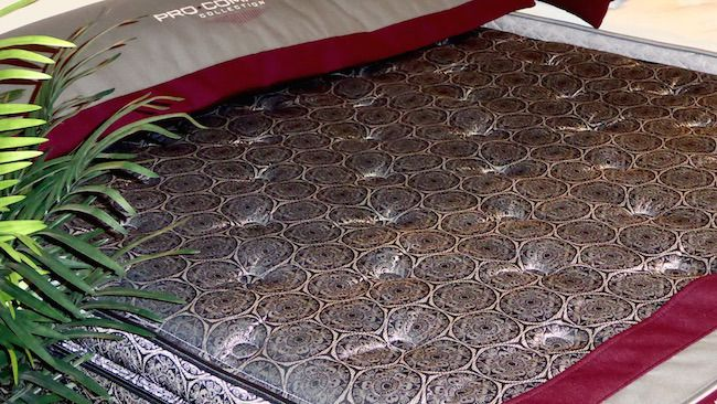Five Star Mattress Pro Comfort Model With Dramatic Ticking