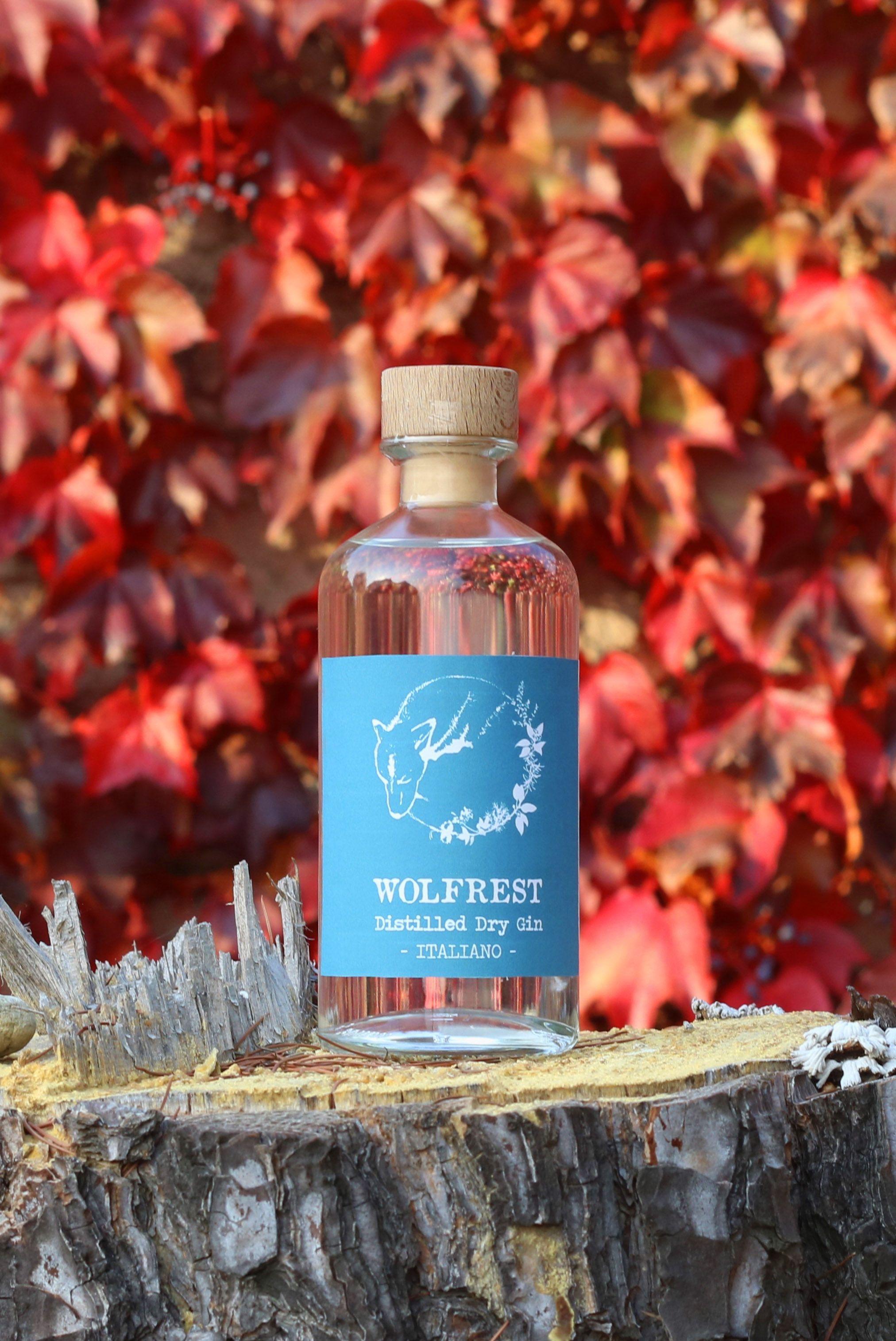 Wolfrest Italian Gin From Piedmont Langhe Gin