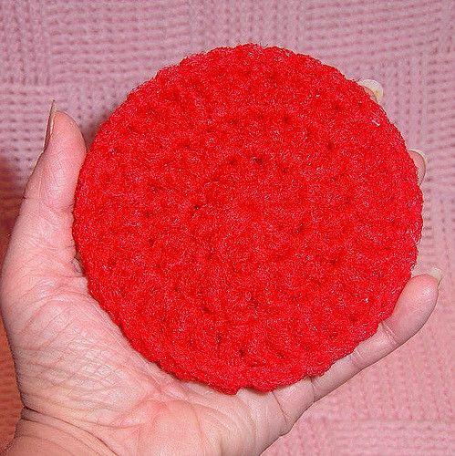 Making Crochet Nylon Net Scrubbies | ThriftyFun | Crochet | Pinterest