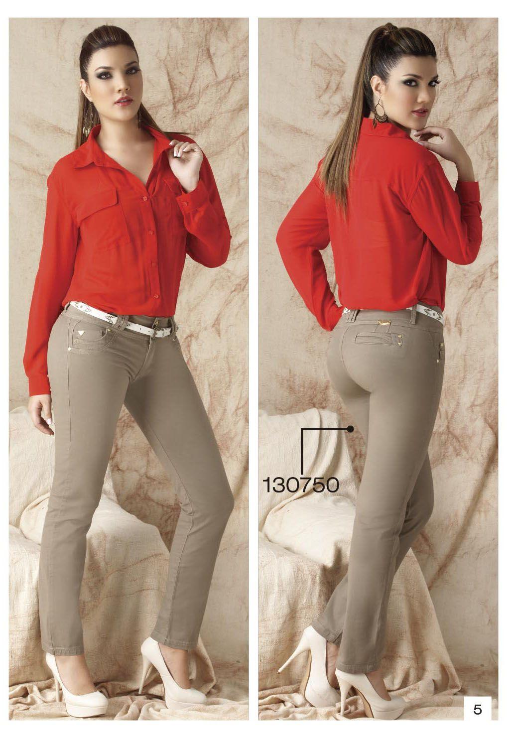 9d5fbaac49f4 pantalon-de-drill-bota-tubo-color-beige | drill | Pantalon beige ...