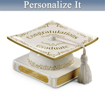 Remember and celebrate a proud milestone along life's journey with this personalized limited edition.