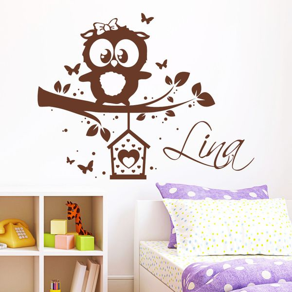 die besten 25 wandtattoo eule ideen auf pinterest eulen baby zimmer kinderzimmer aufkleber. Black Bedroom Furniture Sets. Home Design Ideas