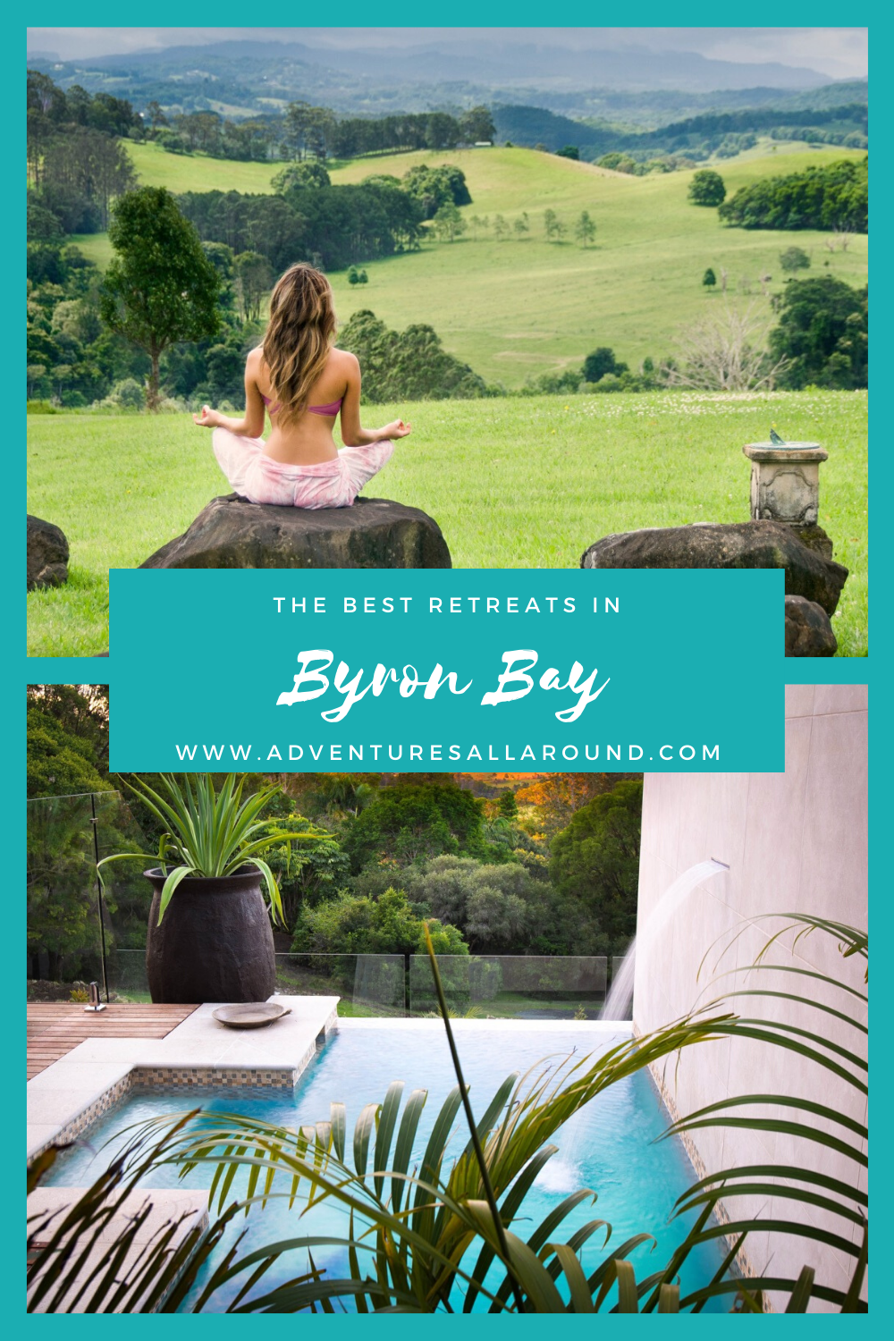 Whether you're craving a spiritual, active, or blissfully relaxing Byron Bay retreat, here are 11 of the best places to slip away from the world. #ByronBay #australia #newsouthwales #spiritualtravel #traveltips