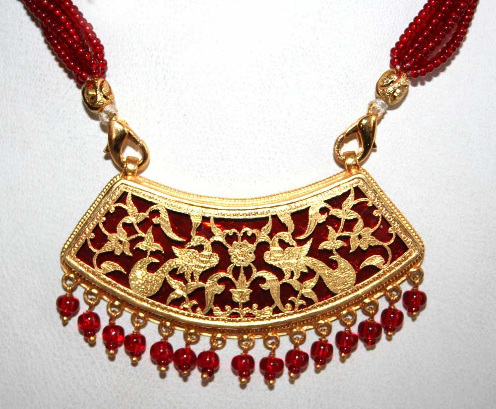 Thewa Jewelry from Rajasthan | Gold, Imitation jewelry and ...