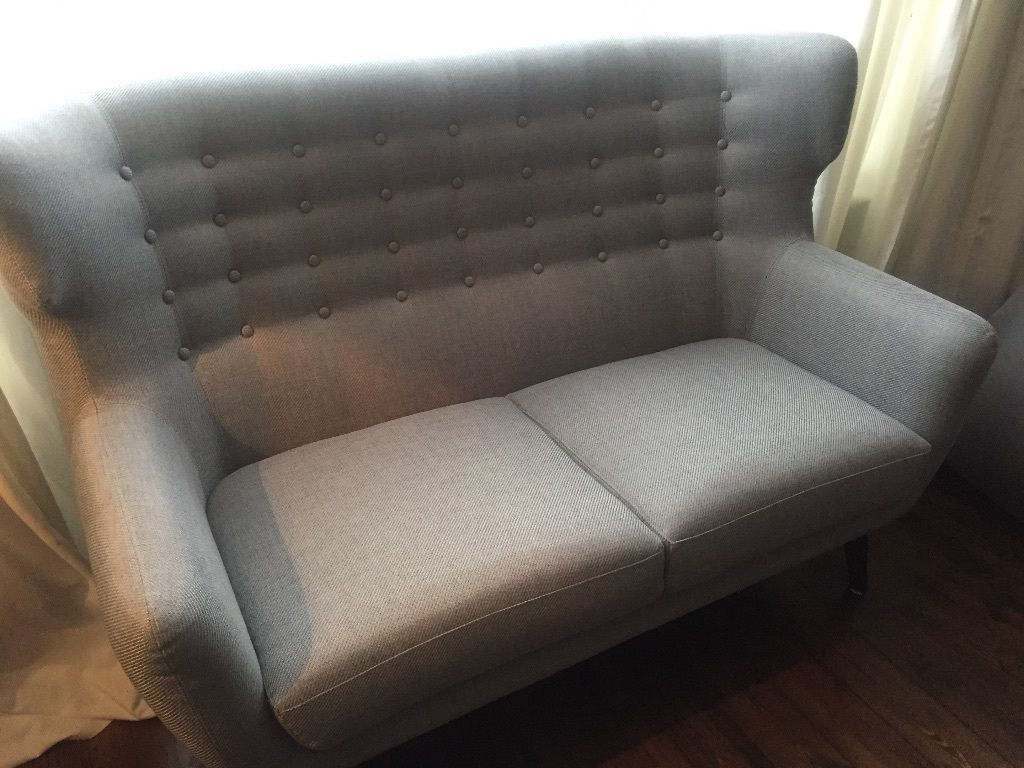 Sofa Gumtree London Brand New Grey 2 Seater Sofa By Made Kubrick In Pearl Grey