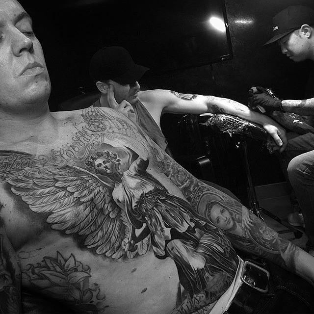 awesome Top 100 portrait tattoos - http://4develop.com.ua/top-100-portrait-tattoos/ Check more at http://4develop.com.ua/top-100-portrait-tattoos/