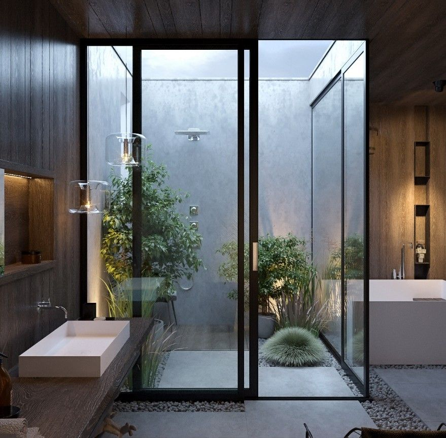 60 Awe Inspiring Home Exterior Design Ideas: 30 Awe-Inspiring Luxury Bathrooms Design Ideas In 2020