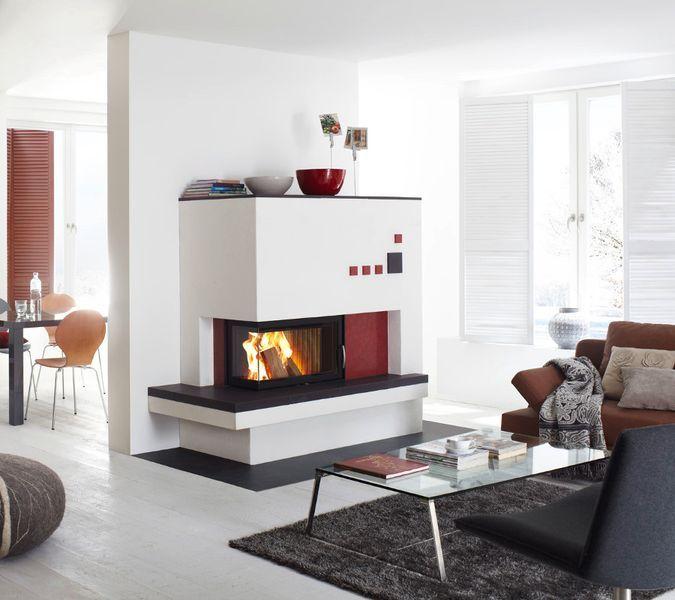 grundofen mit eckscheibe kamin pinterest kachelofen ofen und kacheln. Black Bedroom Furniture Sets. Home Design Ideas