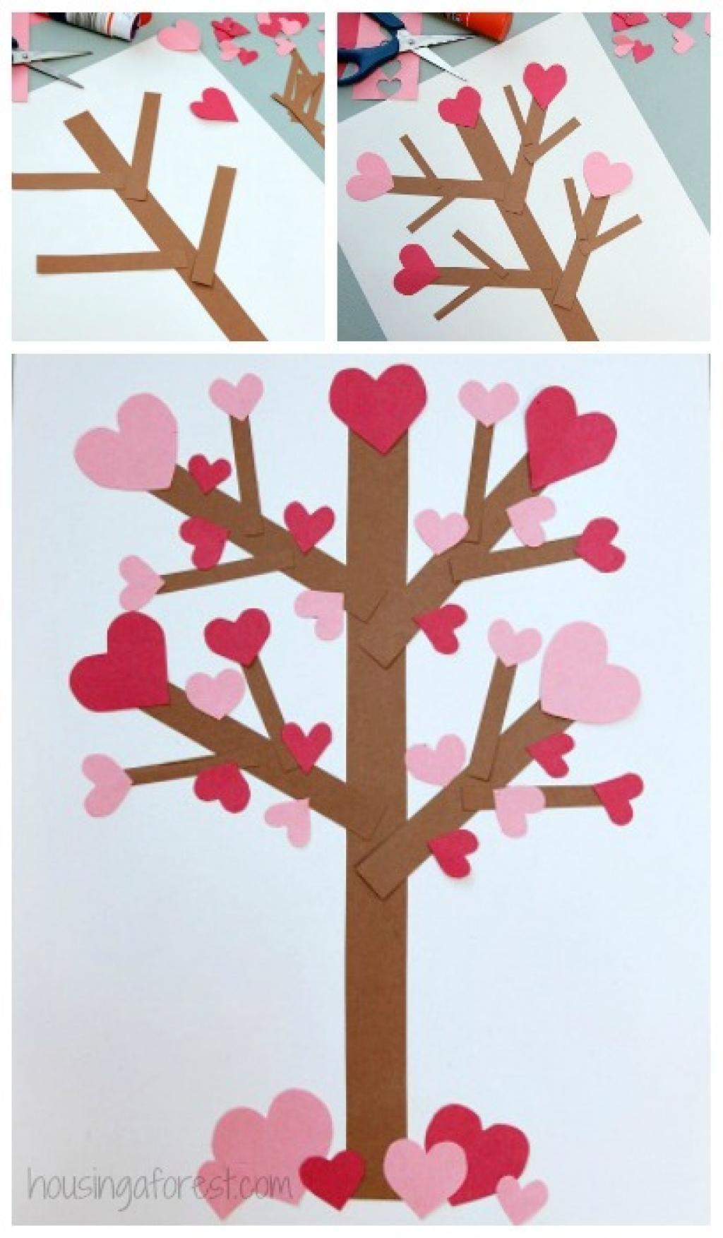 12 Bricolages Pour La Saint Valentin A Faire Avec Les