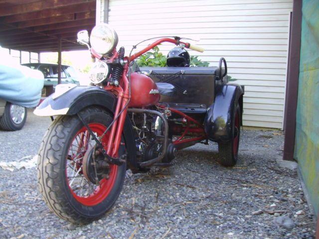 1940 Harley Davidson Servi Car Police Special Servicar Trike Flathead 45 G