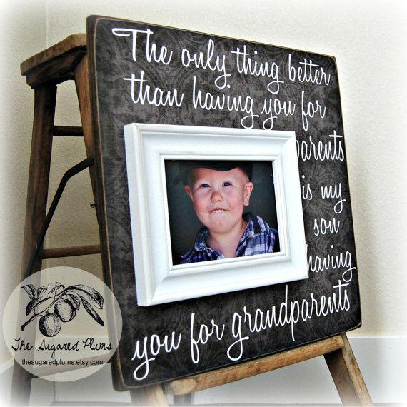 Christmas Gifts For Grandparents, Grandparents Frame, Grandma ...
