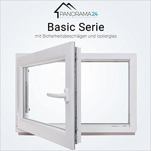 Kellerfenster Kunststoff Fenster Weiss 2 Fach Verglasung Bxh 50x40 Cm Din Rechts 60mm Profil Verschiedene Masse L Kellerfenster Keller Fenster