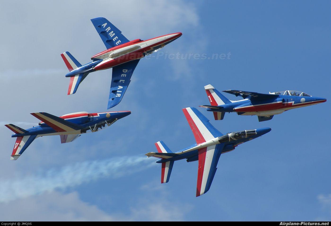 France Air Force Patrouille De France Dassault Dornier Alpha