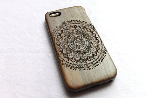 Wood iPhone 4 Case Wooden iPhone 4s Case  Floral by SamuraiCases, $23.00