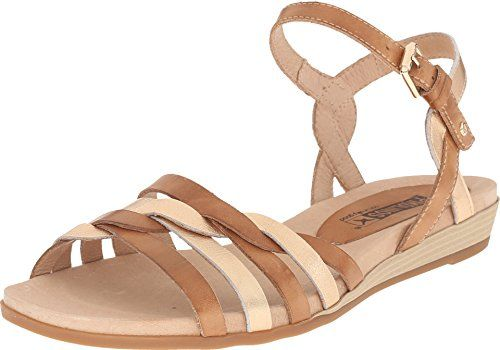 Pikolinos Womens Alcudia 8160662C1 NudeGolden Pink Sandal 35 US Womens 455 B M *** Click image for more details.(This is an Amazon affiliate link)