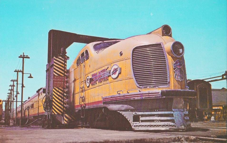 Union Pacific Railroad (1930s).
