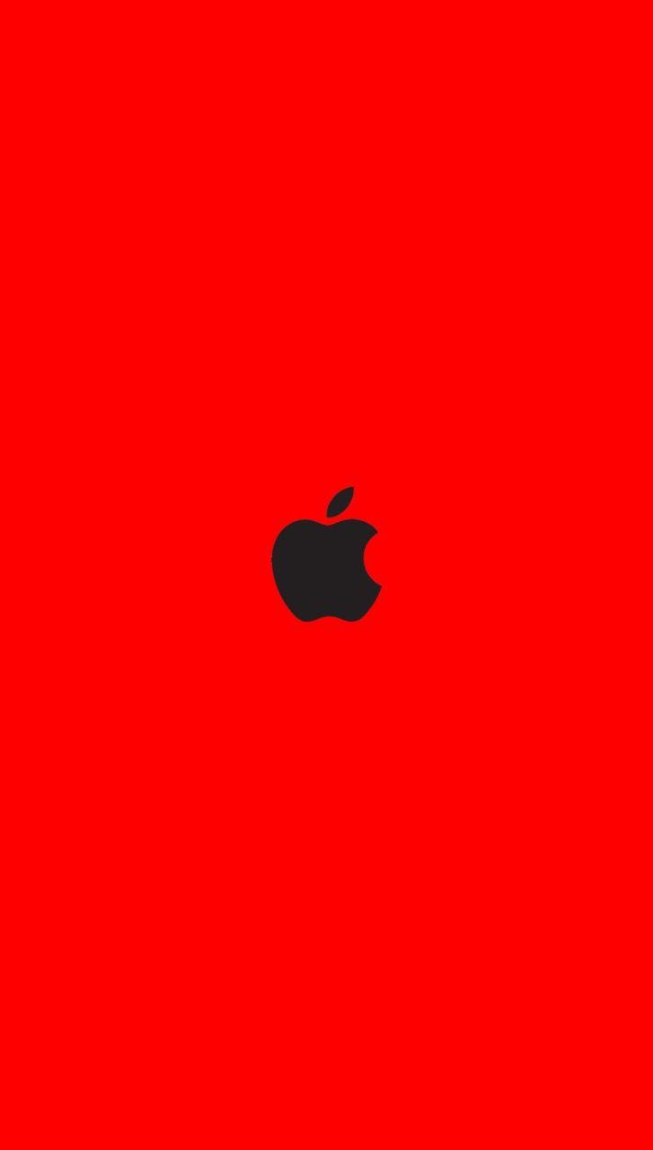 Iphone wallpaper deep red Apple wallpaper, Apple logo