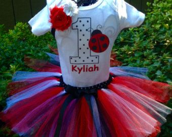 Set tutú de cumpleaños de ratón de minnie roja por Amyshandmades17