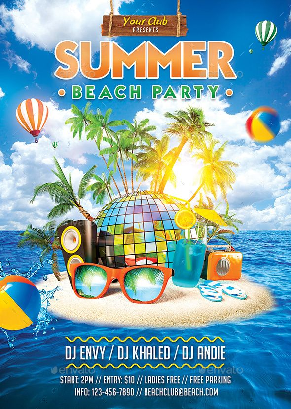 pin by cool design on flyer design in 2018 party flyer summer