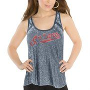 Touch by Alyssa Milano Cleveland Indians Ladies Triple Play Tank Top