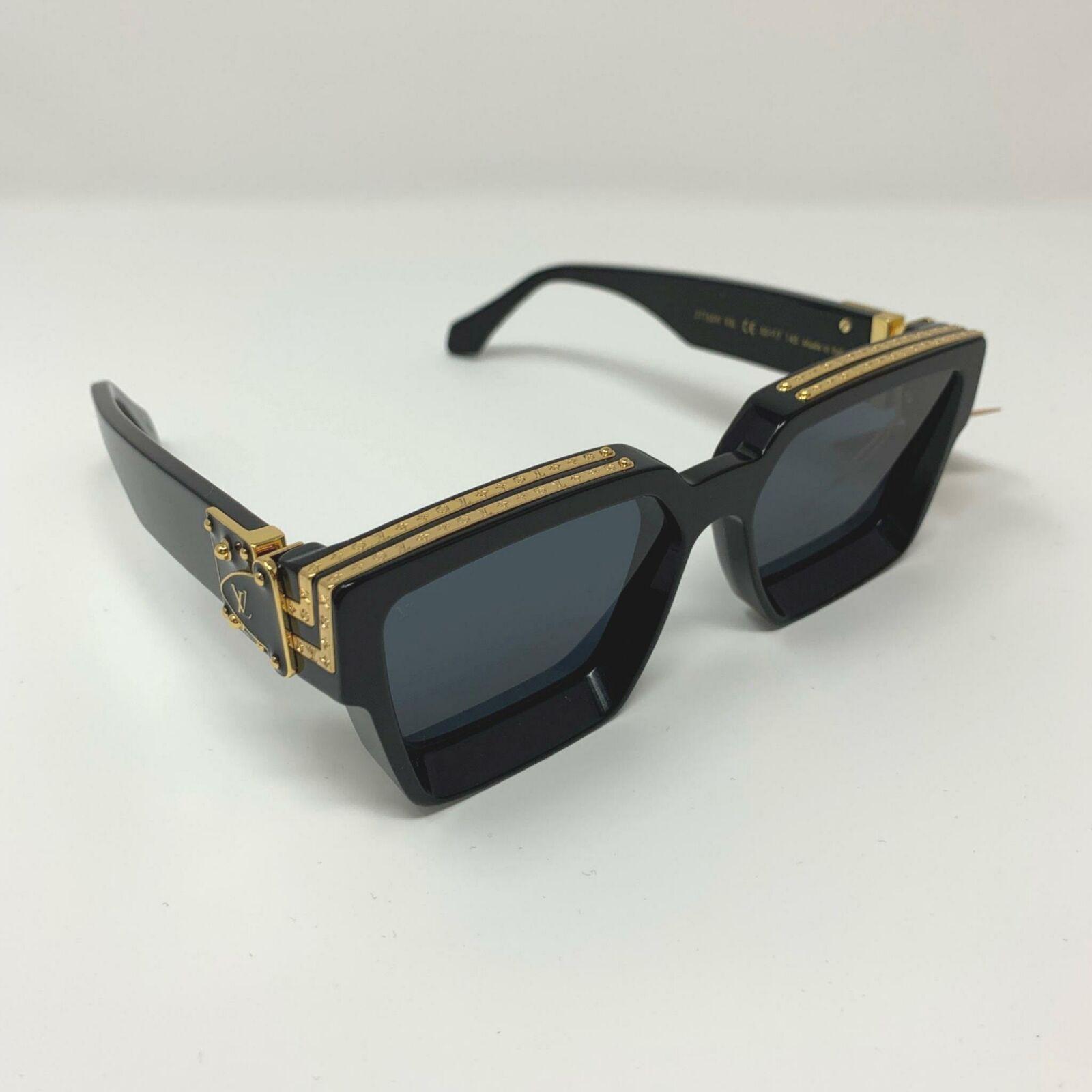 41a8f4f648d0 Louis Vuitton x Virgil Abloh Black MILLIONAIRES 1.1 Sunglasses Supreme  limited | #louisvuitton #louisvuittonsunglasses #lvsunglasses  #louisvuittonfashion ...