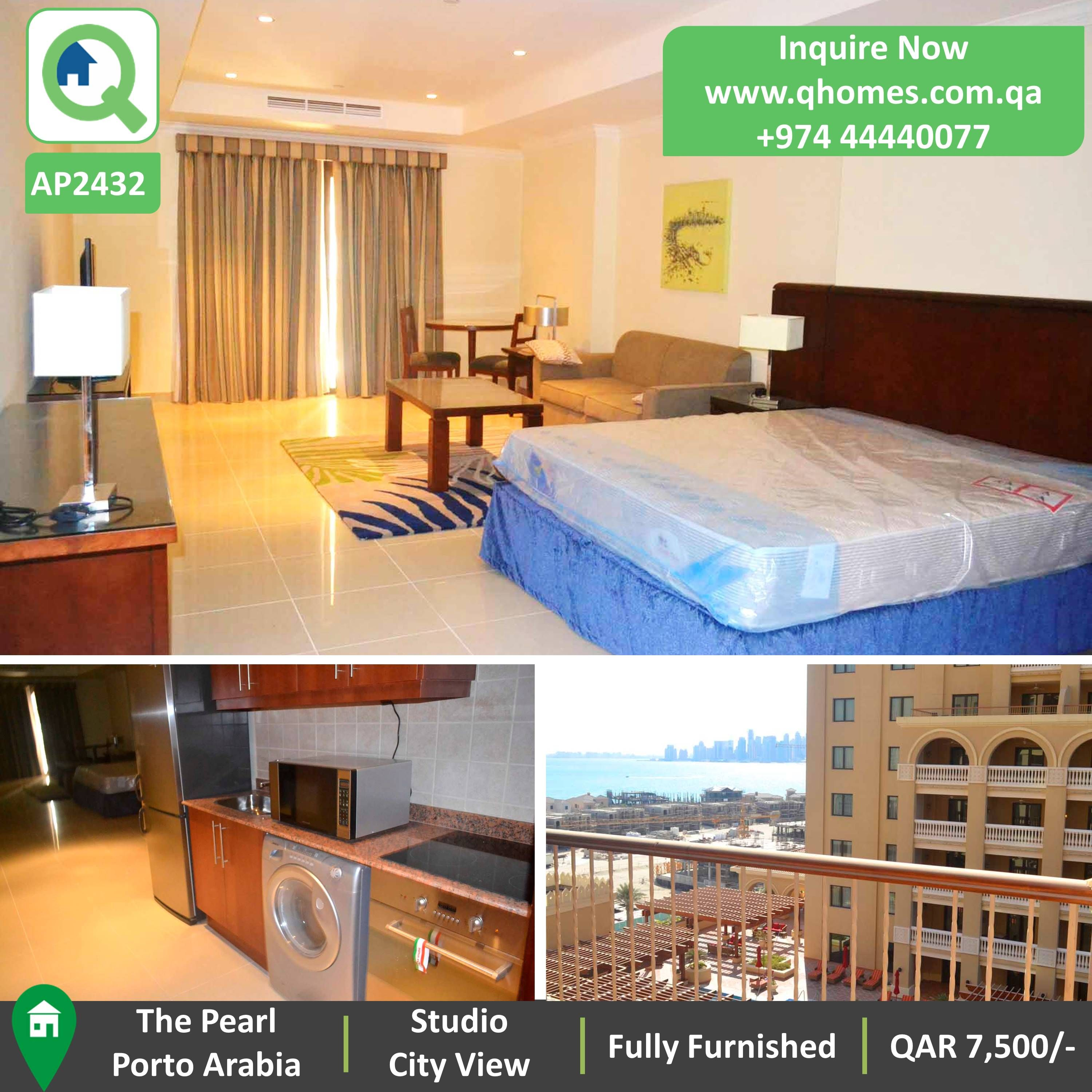 Furnished Studio Apartments: Studio For Rent In The Pearl